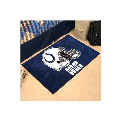NFL - Indianapolis NCAAts Doormat Rug Size: 18 x 26