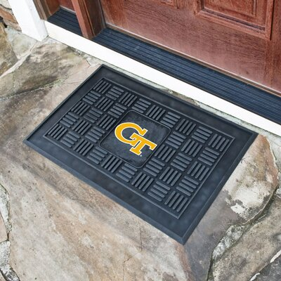 NCAA Georgia Tech Medallion Door Mat