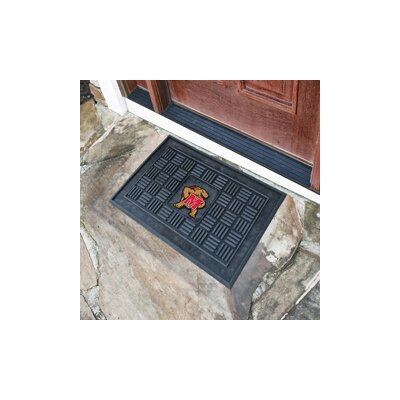 NCAA University of Maryland Medallion Door Mat