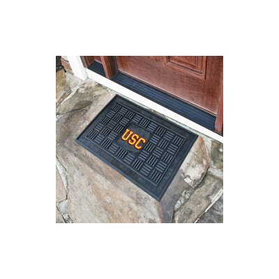 NCAA University of Southern California Medallion Door Mat