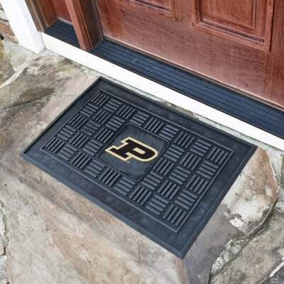 NCAA Purdue University Medallion Door Mat