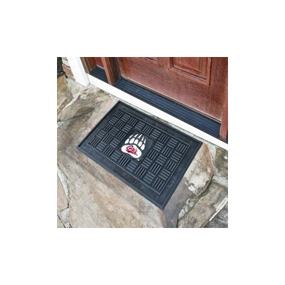 NCAA University of Montana Medallion Door Mat