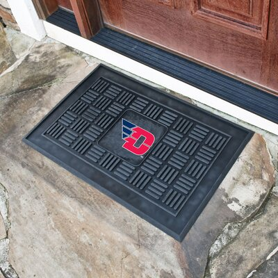 NCAA University of Dayton Medallion Door Mat