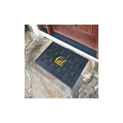 NCAA University of California - Berkeley Medallion Door Mat