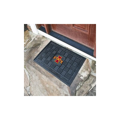 NCAA Iowa State University Medallion Door Mat