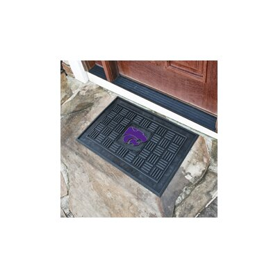 NCAA Kansas State University Medallion Door Mat