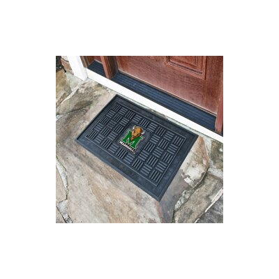 NCAA Marshall University Medallion Door Mat