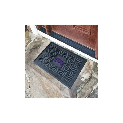 NCAA Texas Christian University Medallion Door Mat