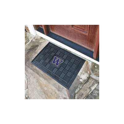 NCAA University of Washington Medallion Door Mat
