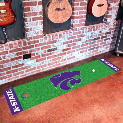 NCAA Kansas State University Putting Green Mat