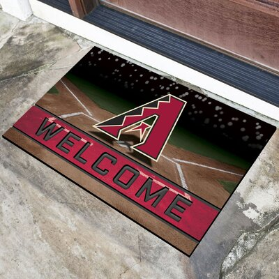 MLB Rubber Doormat MLB Team: Arizona Diamondbacks