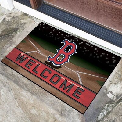 MLB Rubber Doormat MLB Team: Boston Red Sox