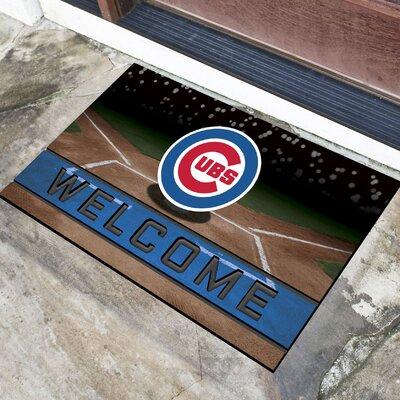 MLB Rubber Doormat MLB Team: Chicago Cubs