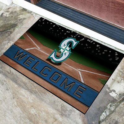 MLB Rubber Doormat MLB Team: Seattle Mariners