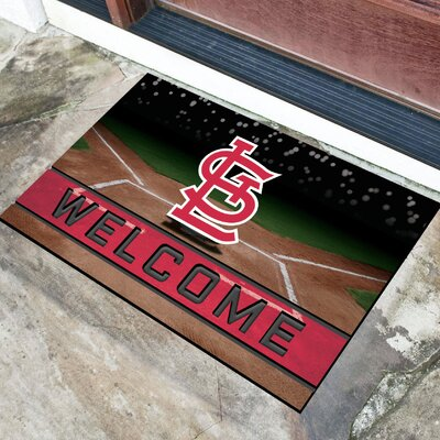MLB Rubber Doormat MLB Team: St. Louis Cardinals