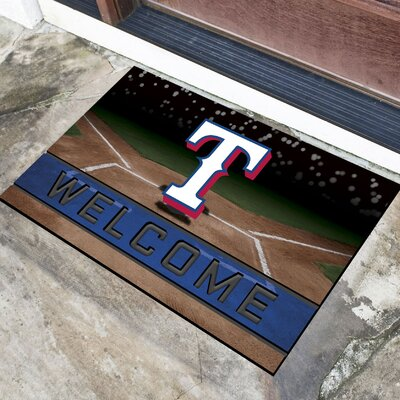 MLB Rubber Doormat MLB Team: Texas Rangers