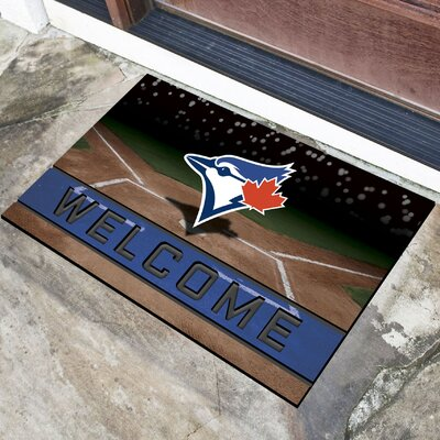 MLB Rubber Doormat MLB Team: Toronto Blue Jays