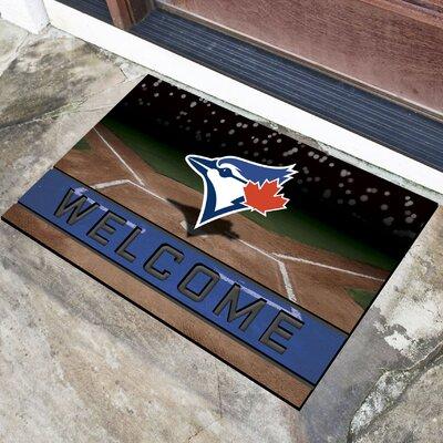 MLB Rubber Doormat MLB Team: Toronto Blue Jays