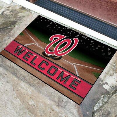 MLB Rubber Doormat MLB Team: Washington Nationals
