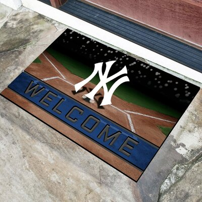 MLB Rubber Doormat MLB Team: New York Yankees