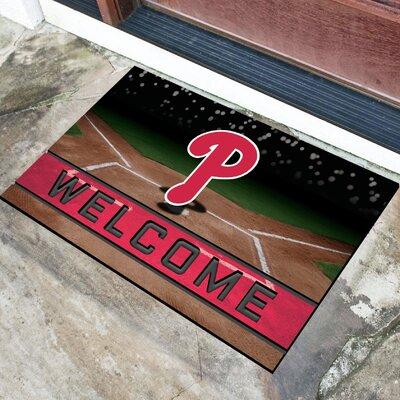MLB Rubber Doormat MLB Team: Philadelphia Phillies