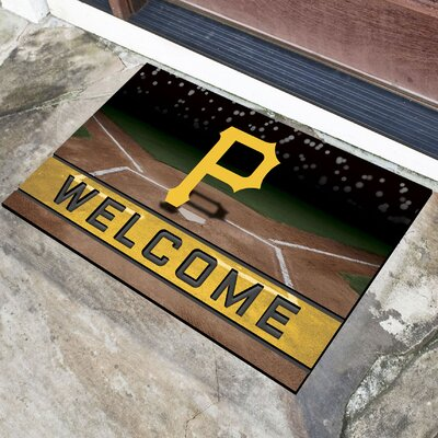 MLB Rubber Doormat MLB Team: Pittsburgh Pirates