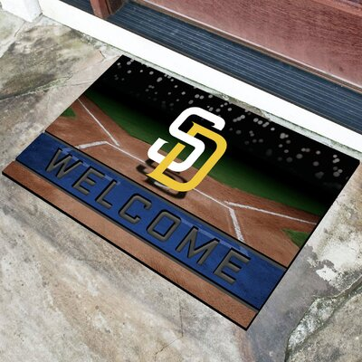 MLB Rubber Doormat MLB Team: San Diego Padres