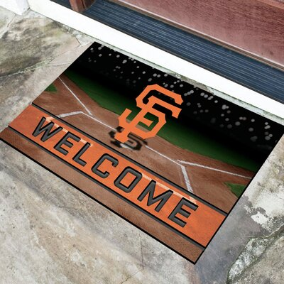 MLB Rubber Doormat MLB Team: San Francisco Giants