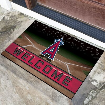 MLB Rubber Doormat MLB Team: Los Angeles Angels