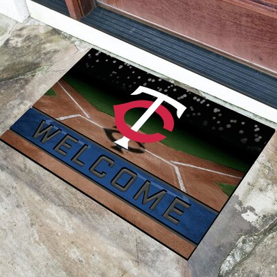 MLB Rubber Doormat MLB Team: Minnesota Twins