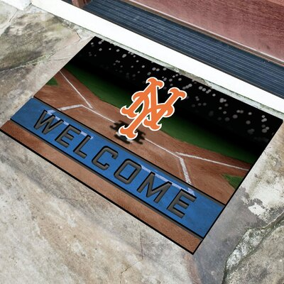 MLB Rubber Doormat MLB Team: New York Mets