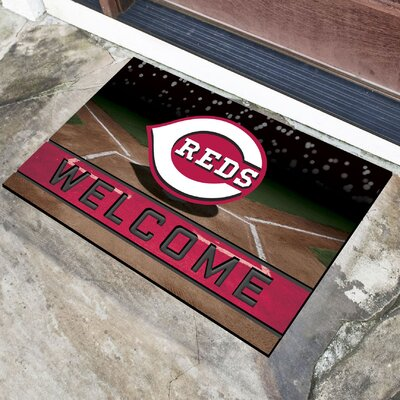 MLB Rubber Doormat MLB Team: Cincinnati Reds
