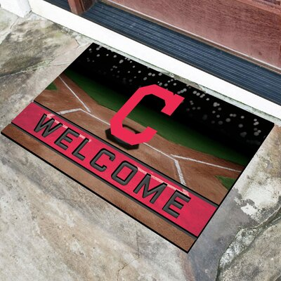MLB Rubber Doormat MLB Team: Cleveland Indians