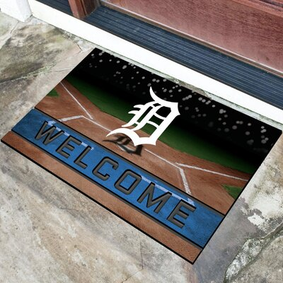 MLB Rubber Doormat MLB Team: Detroit Tigers