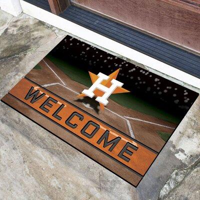 MLB Rubber Doormat MLB Team: Houston Astros