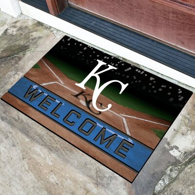 MLB Rubber Doormat MLB Team: Kansas City Royals