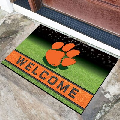 NCAA Rubber Doormat NCAA Team: Clemson University