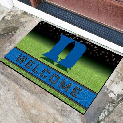 NCAA Rubber Doormat NCAA Team: Duke University
