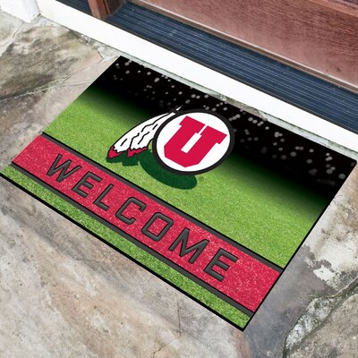 NCAA Rubber Doormat NCAA Team: University of Utah