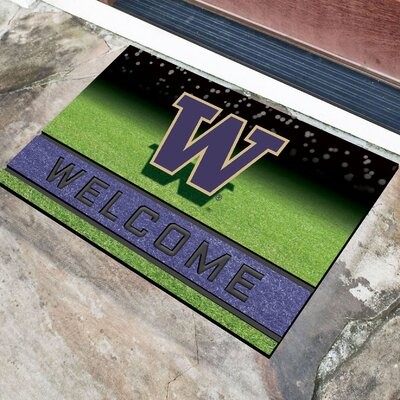NCAA Rubber Doormat NCAA Team: University of Washington