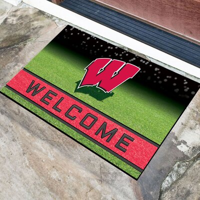 NCAA Rubber Doormat NCAA Team: University of Wisconsin, Madison