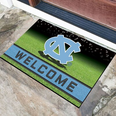 NCAA Rubber Doormat NCAA Team: University of North Carolina, Chapel Hill
