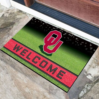 NCAA Rubber Doormat NCAA Team: University of Oklahoma
