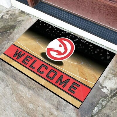 NBA Rubber Doormat NBA Team: Atlanta Hawks