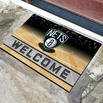 NBA Rubber Doormat NBA Team: Brooklyn Nets