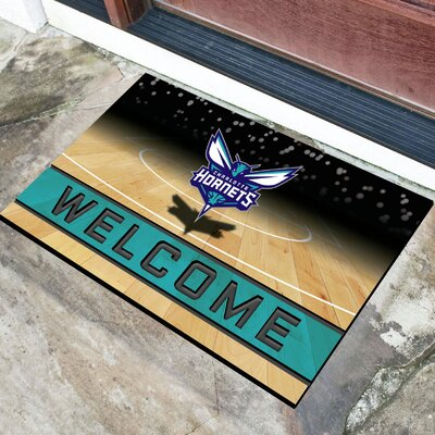 NBA Rubber Doormat NBA Team: Charlotte Hornets