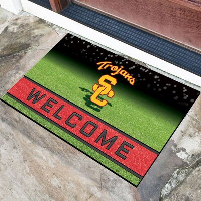 NCAA Rubber Doormat NCAA Team: University of Southern California