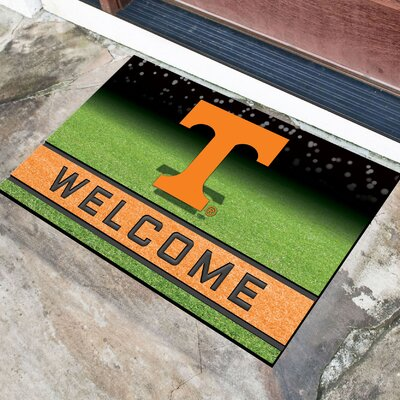 NCAA Rubber Doormat NCAA Team: University of Tennessee, Knoxville