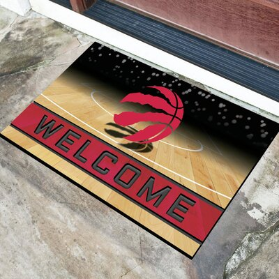 NBA Rubber Doormat NBA Team: Toronto Raptors