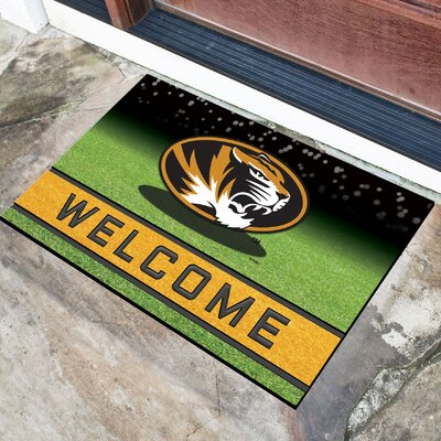 NCAA Rubber Doormat NCAA Team: University of Missouri, Columbia